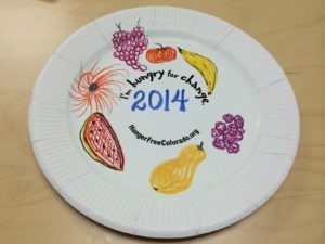 2014 Hungry for Change Plate