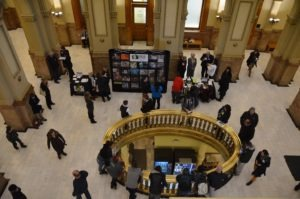 Hunger Through My Lens exhibit draws a crowd during advocacy day