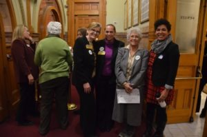 "Advocates and staff during ""Hungry for Change: Day at the Capitol"""
